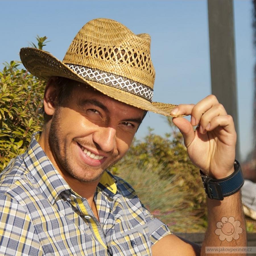 c0a780281 Karpet pánsky klobúk slamený kovboj Ako v perinke